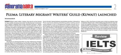 PLUMA-migrant-writers in Filpan-KT