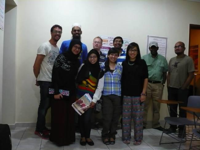 Pluma + Kuwait Mapping Meetup at TIES Centre, Kuwait