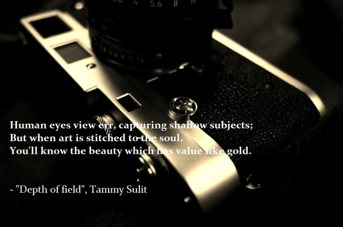 Depth of field by Tammy Sulit