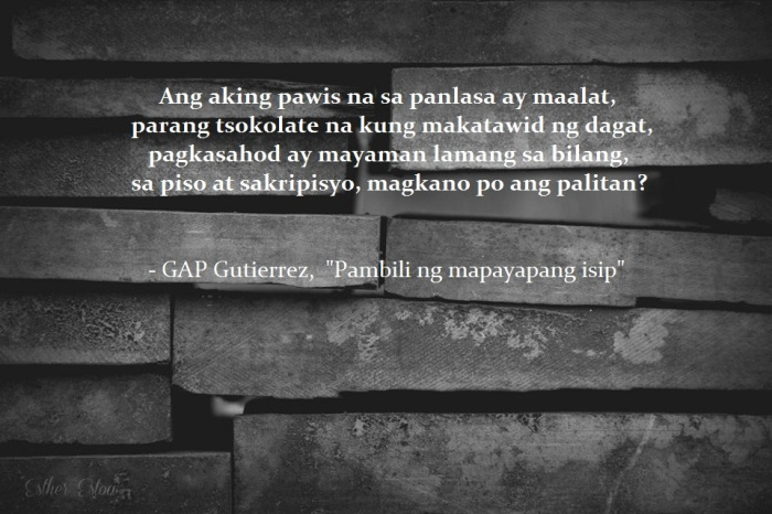 Pambili ng mapayapang isip by GAP Gutierrez